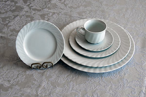 Whittur Co. Regina Plates and Serving Dishes
